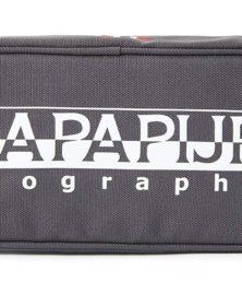Astuccio Round Napapijri Happy grigio
