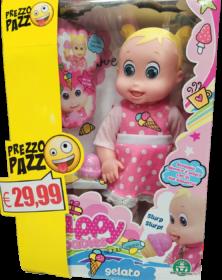 Happy Babies Bambola Gelato, - Giochi Preziosi
