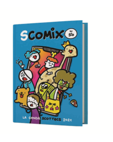 COMIX DIARIO 16 MESI MEDIUM PANINI SCOTTECS BY SIO 2020-2021