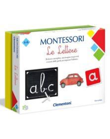 MONTESSORI - LE LETTERE - clementoni