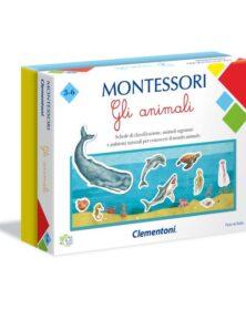 MONTESSORI - GLI ANIMALI - Clementoni