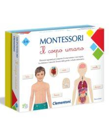 MONTESSORI - IL CORPO UMANO - clementoni
