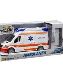 Ambulanza Fast Wheels Giocheria 190005