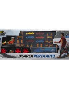 Camion Bisarca Grande Con Maniglia e 12 auto