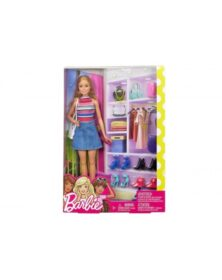 Barbie stilista e i suoi accessori- Mattel
