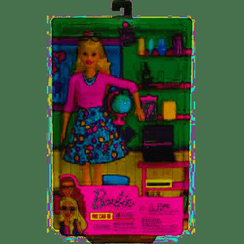 Barbie Studentessa con Mappamondo - Mattel