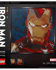 lego art- iron man