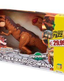 Dinosauro T-REX radiocomandato