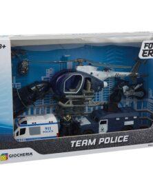 PLAYSET TEAM POLICE