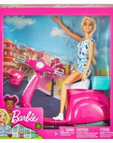 Barbie con scooter -Mattel