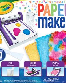 Paper maker, laboratorio della carta – Crayola
