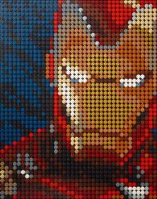 LEGO ART Iron Man - Marvel Studios - 31199