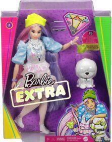 Barbie Extra Bambola con 10 Accessori alla Moda - GVR05