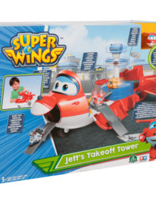 SUPERWINGS Jett Aereo Playset UPW76000
