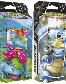 Pokemon Mazzi Lotte V Venusaur-V e Blastoise-V