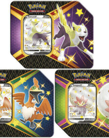 Pokemon - Tin da collezione Spada e Scudo 4.5 Destino Splendente assortito