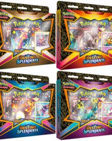 Pokemon Spada e Scudo 4.5 Destino Splendente Festa di Matti Pin Collection