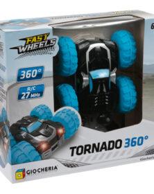 Auto radiocomandata TORNADO 360° - Fast Wheels