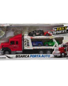 BISARCA PORTA AUTO -Fast Wheels - Giocheria