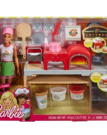 Barbie Pizzeria Chef Playset FHR09