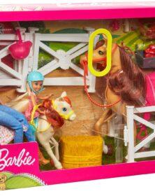 Barbie La Scuderia con Chelsea FXH15