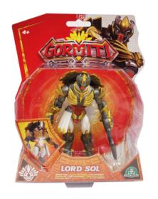 Gormiti S3, Personaggio Articolato 12 Cm + Luci & Suoni, Popolo Dei Solark, LORD SOL (GRA23000) - Giochi Preziosi