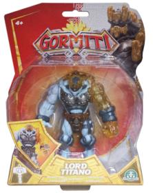 Gormiti S3 Personaggio Articolato 12 Cm + Luci & Suoni Popolo Del Cristallo - LORD TITANO (GRA23000)