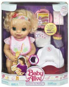 Baby Alive impara a usare il vasino