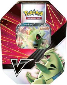Pokémon TCG V Strikers Tin: Tyranitar V o Empoleon V