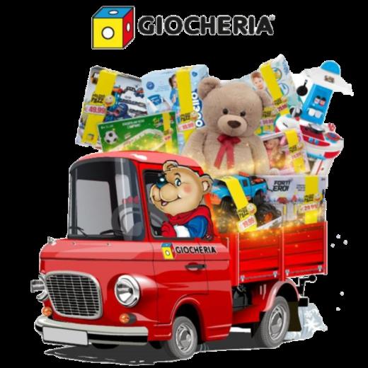 consegna orso giocheria