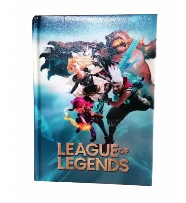 Diario 12 mesi League of Legends nero/oro non datato